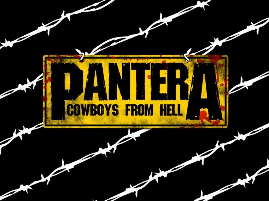 PANTERA thrash metal heavy blood poster    f wallpaper