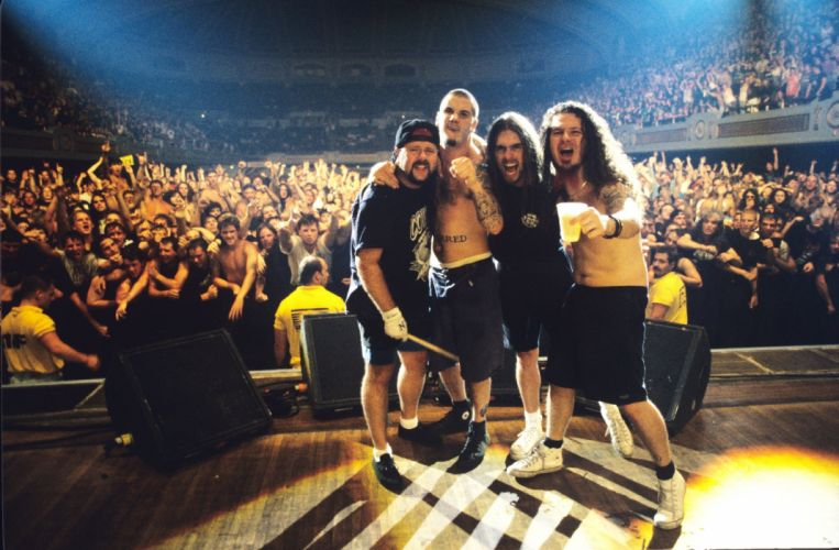 PANTERA thrash metal heavy concert crowd f wallpaper