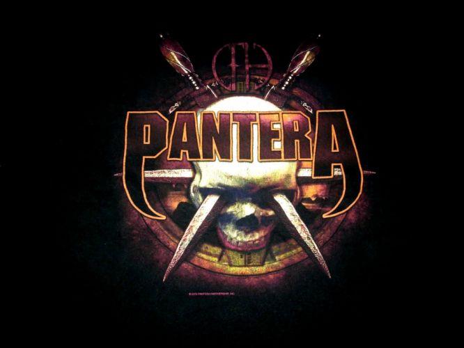 PANTERA thrash metal heavy dark skull g wallpaper