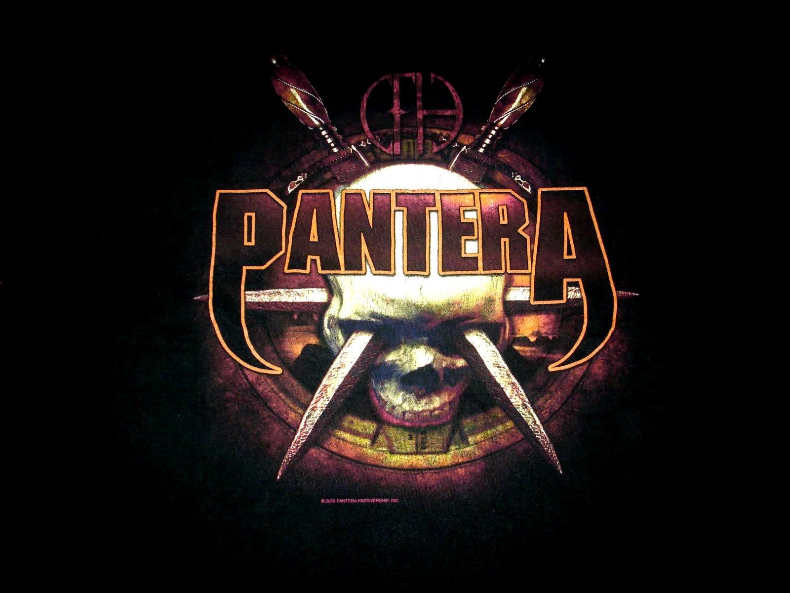 Foyer Des Arts Heavy Metal : Pantera thrash metal heavy dark skull g wallpaper