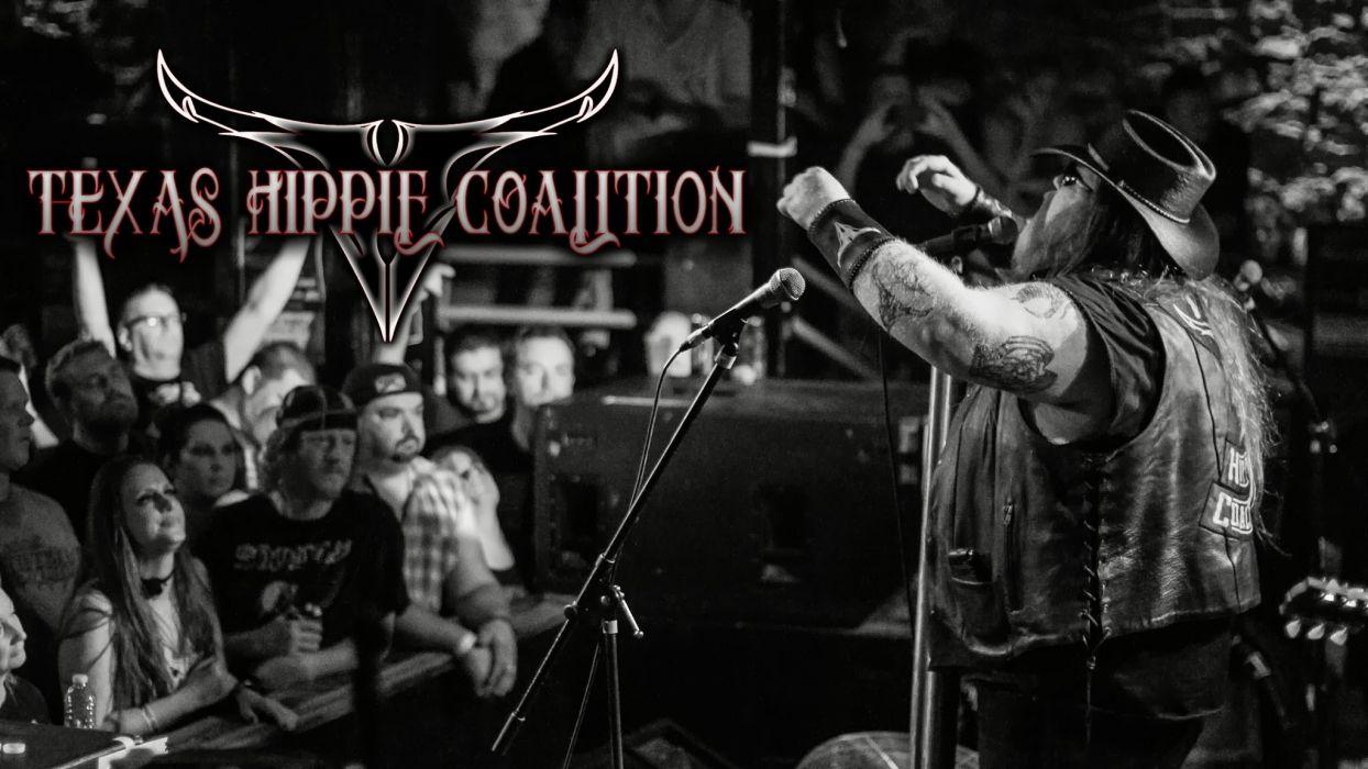 TEXAS HIPPIE COALITION southern dirt grove metal heavy  f poster concert  g wallpaper
