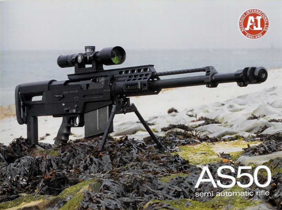Accuracy International AS50  50 BMG Semi-Auto Rifle 1 1600x1194 wallpaper
