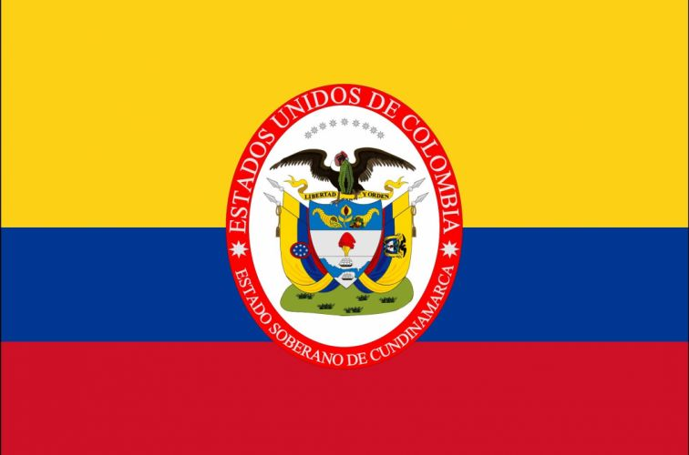 2000px-Flag of Sovereign State of Cundinamarca_svg wallpaper