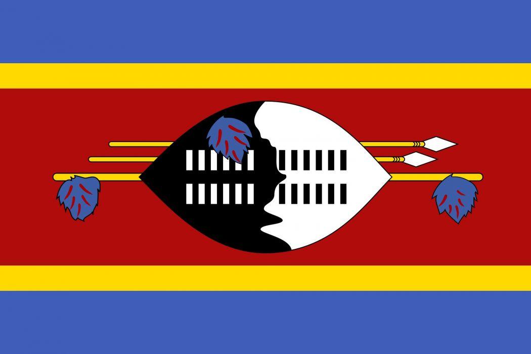 2000px-Flag of Swaziland_svg wallpaper