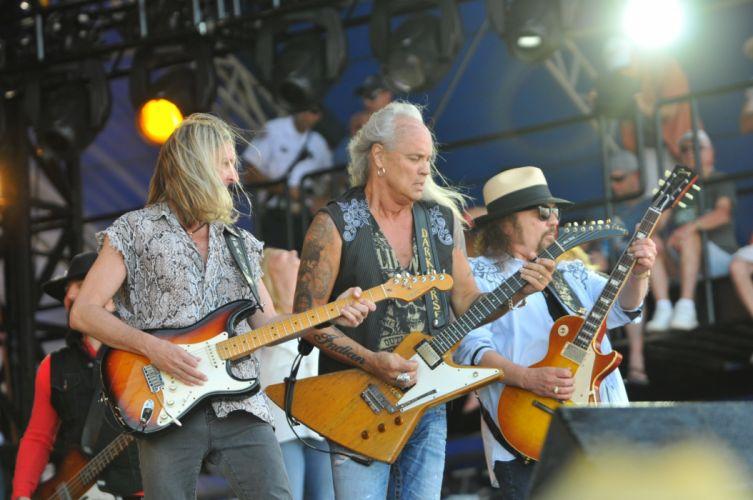 LYNYRD SKYNRD southern hard rock classic country concert guitar t wallpaper
