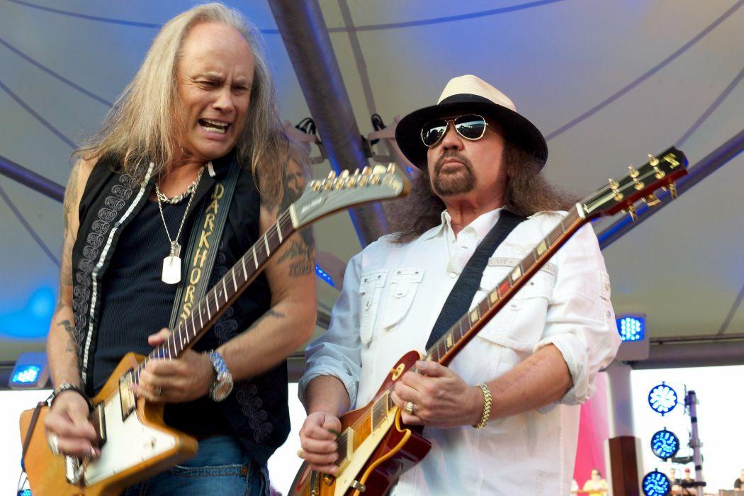 LYNYRD SKYNRD southern hard rock classic country concert guitar  g wallpaper