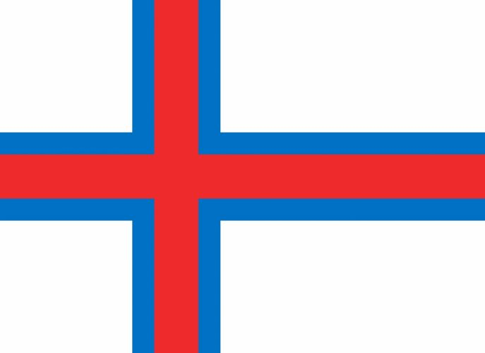 2000px-Flag of the Faroe Islands_svg wallpaper