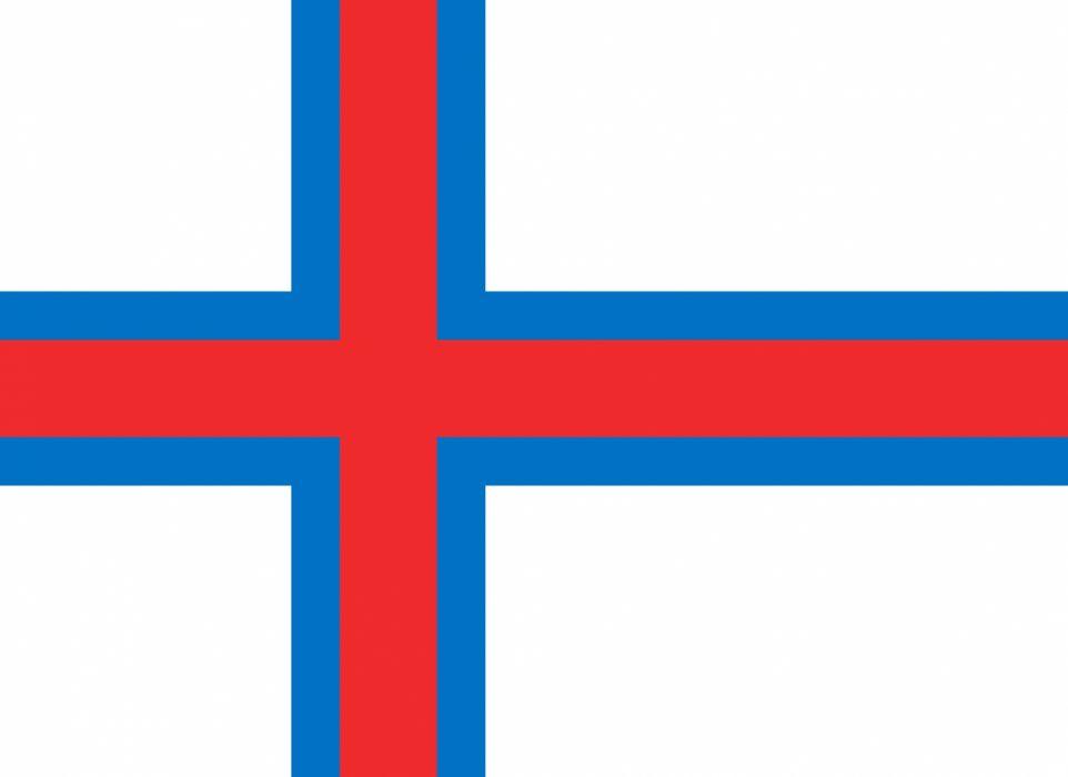 2000px-Flag of the Faroe Islands_svg wallpaper
