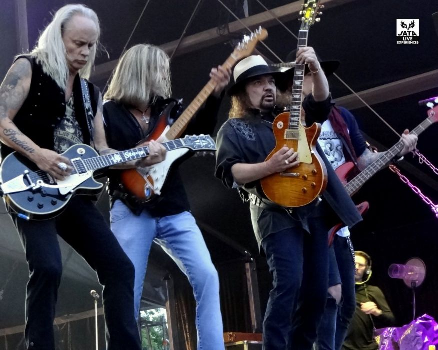 LYNYRD SKYNRD southern hard rock classic country concert guitar gd wallpaper