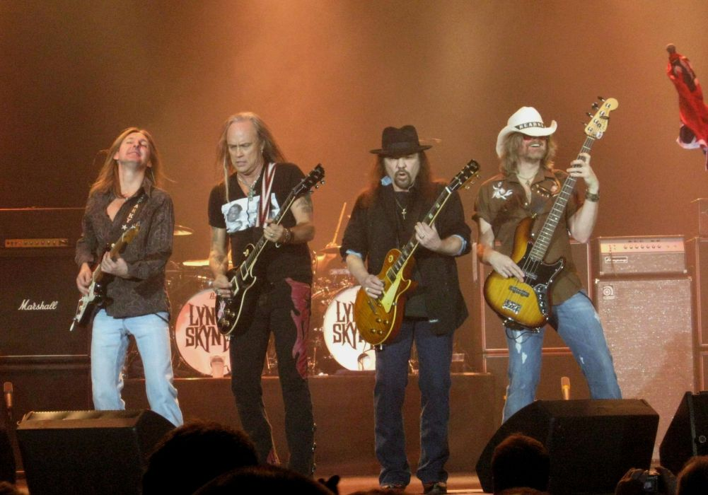 LYNYRD SKYNRD southern hard rock classic country concert guitar g wallpaper