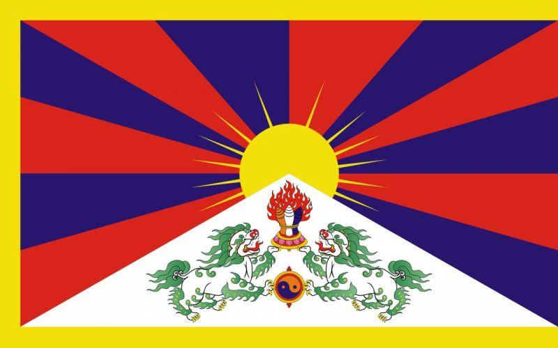2000px-Flag of Tibet_svg wallpaper