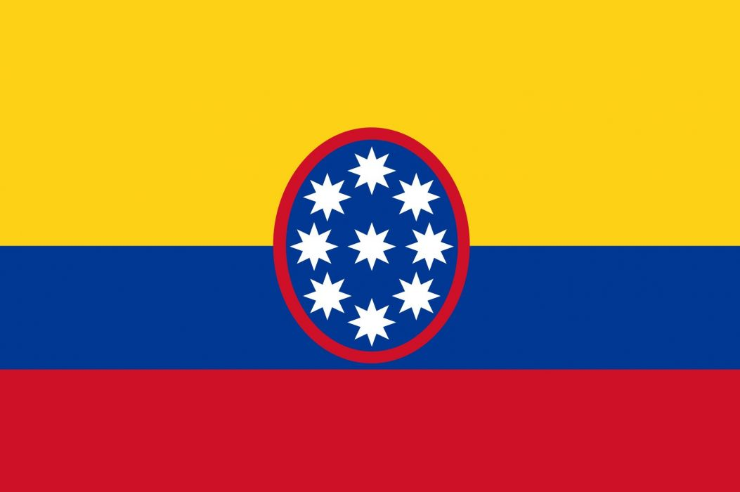 2000px-Flag of United States of Colombia_svg wallpaper