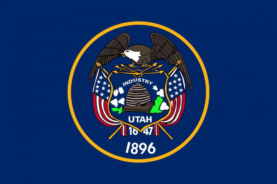 2000px-Flag of Utah_svg wallpaper