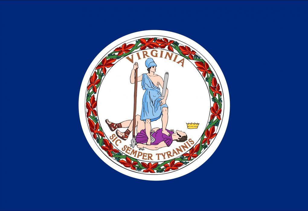 2000px-Flag of Virginia_svg wallpaper