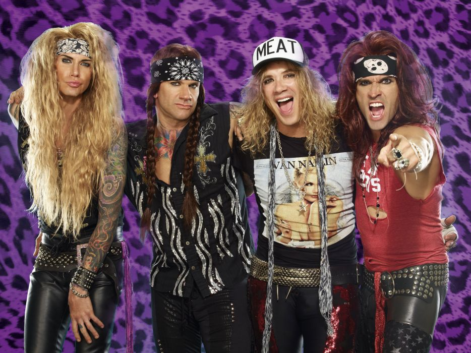 STEEL PANTHER hair metal heavy glam    jg wallpaper