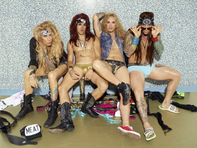 STEEL PANTHER hair metal heavy glam fs wallpaper