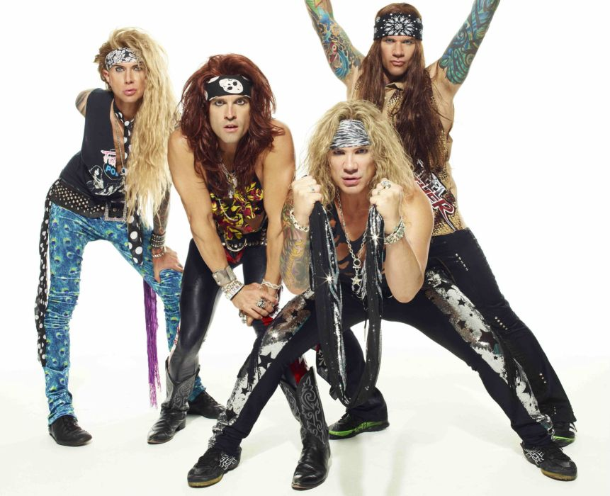 STEEL PANTHER hair metal heavy glam  cf wallpaper