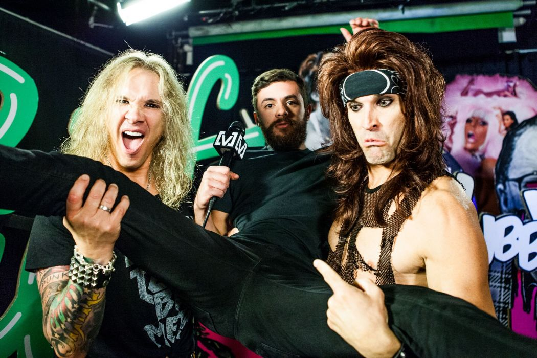STEEL PANTHER hair metal heavy glam  f wallpaper