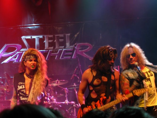 STEEL PANTHER hair metal heavy glam concert h wallpaper