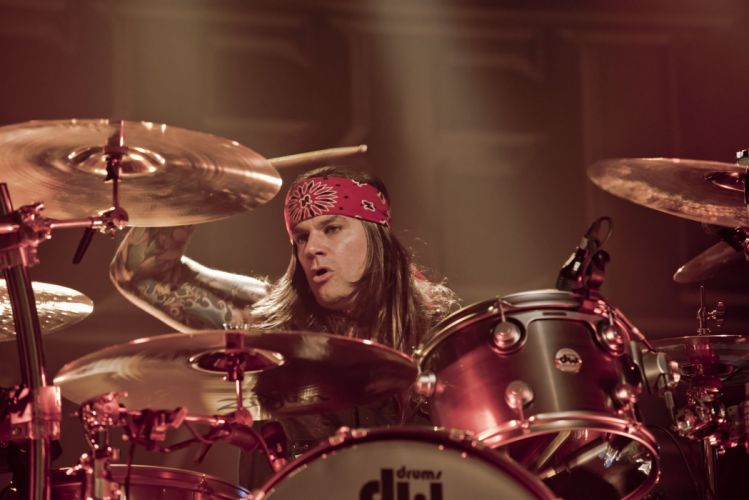 STEEL PANTHER hair metal heavy glam concert drums f wallpaper