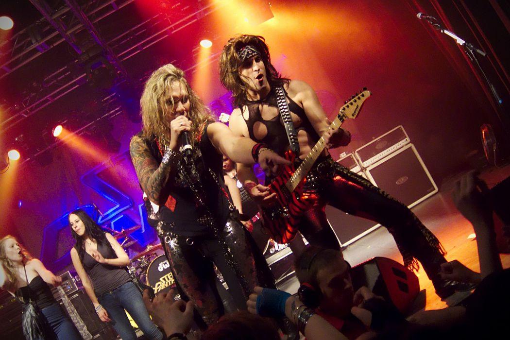 STEEL PANTHER hair metal heavy glam concert    g wallpaper