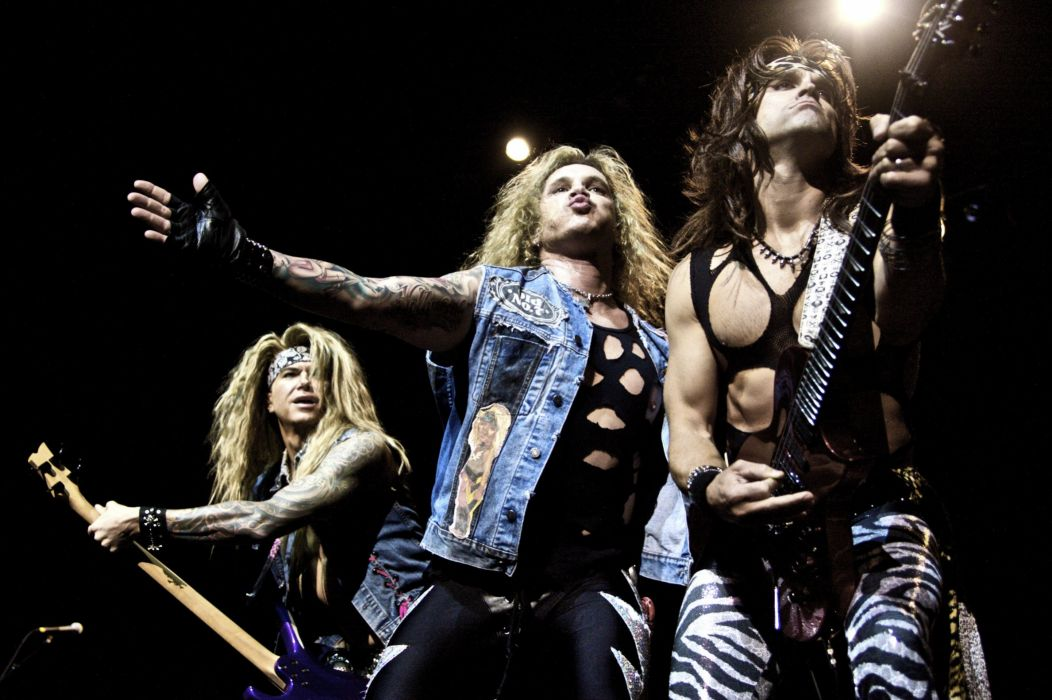 STEEL PANTHER hair metal heavy glam concert guitar   fs wallpaper