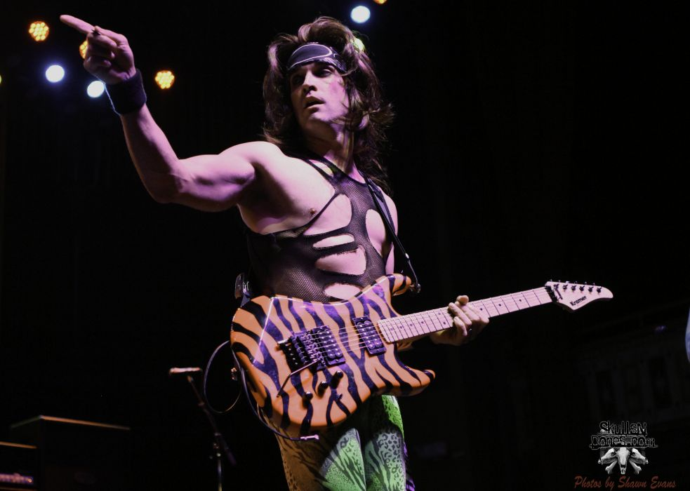 STEEL PANTHER hair metal heavy glam concert guitar   td wallpaper