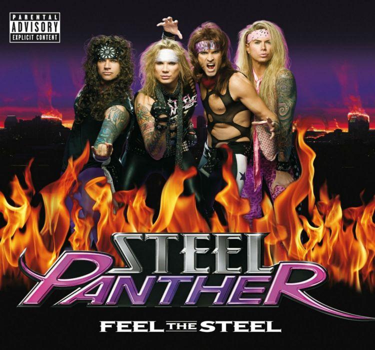 STEEL PANTHER hair metal heavy glam poster   hd wallpaper