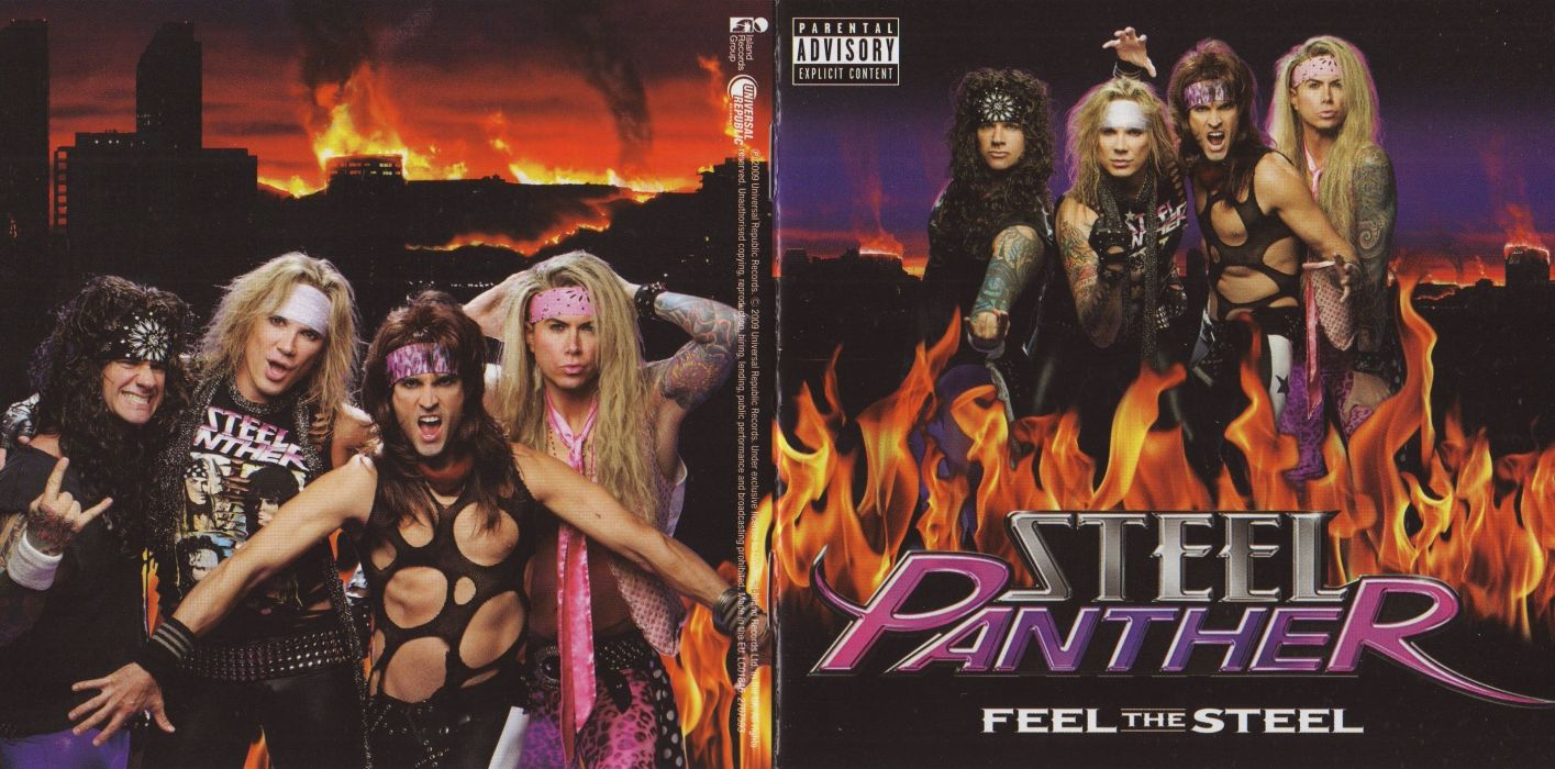 STEEL PANTHER hair metal heavy glam poster vz wallpaper