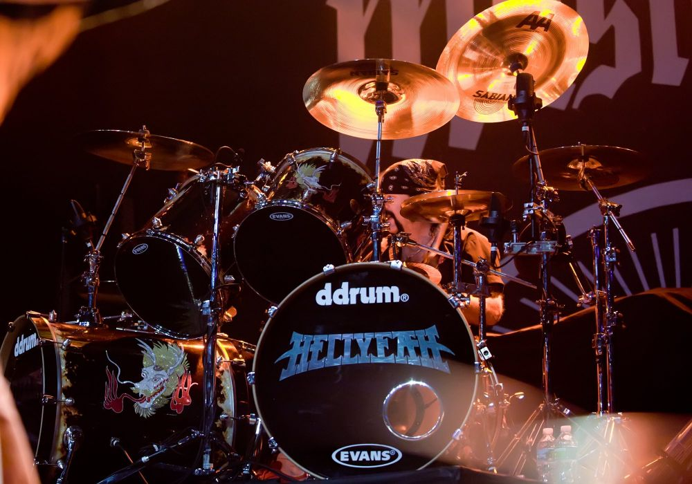 HELLYEAH southern metal heavy groove concert drums      d wallpaper