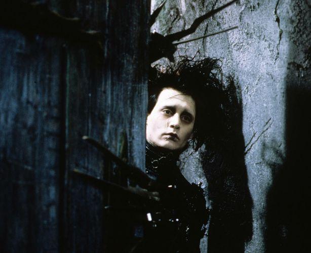 EDWARD SCISSORHANDS drama fantasy romance depp wallpaper