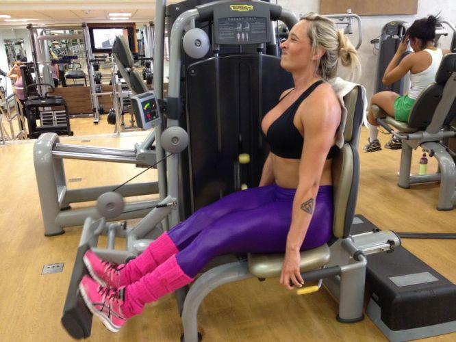 JUJU SALIMENI model brazilian sexy babe blonde fitness g wallpaper