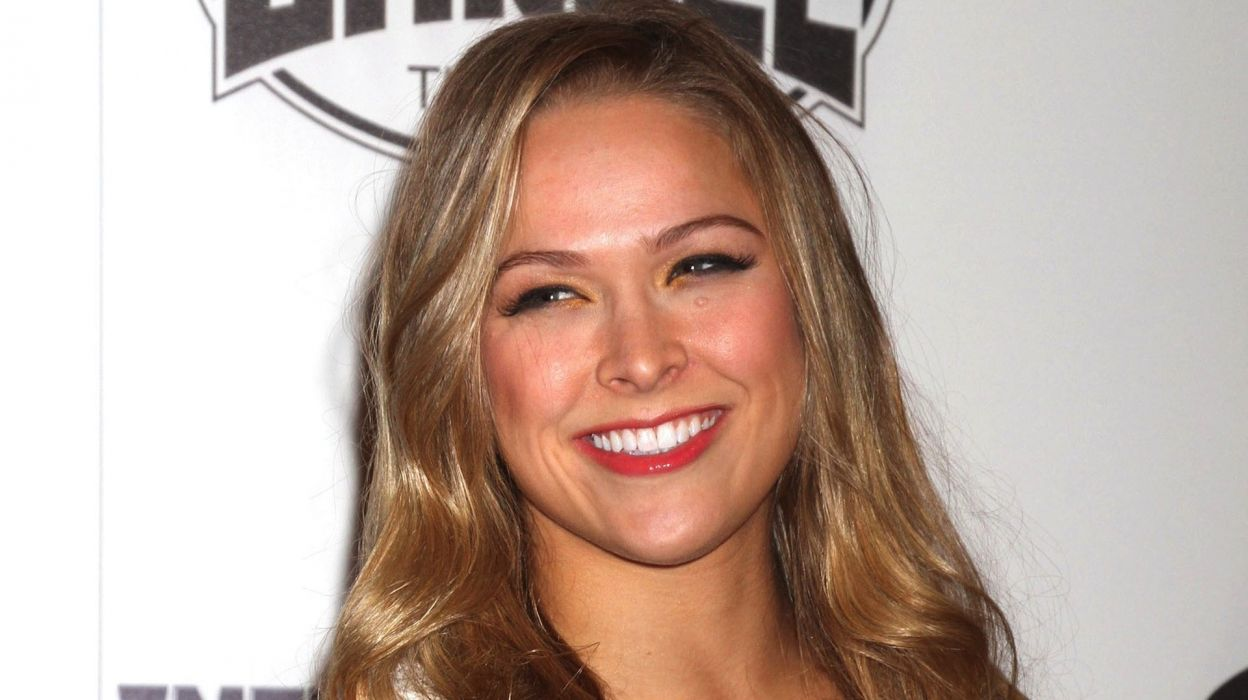 RONDA ROUSEY ufc mma mixed martial sexy babe blonde extreme (46) wallpaper