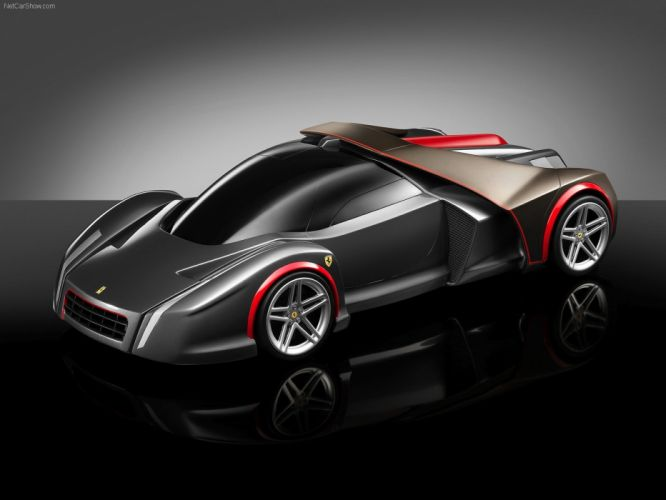 black cars design Ferrari wallpaper