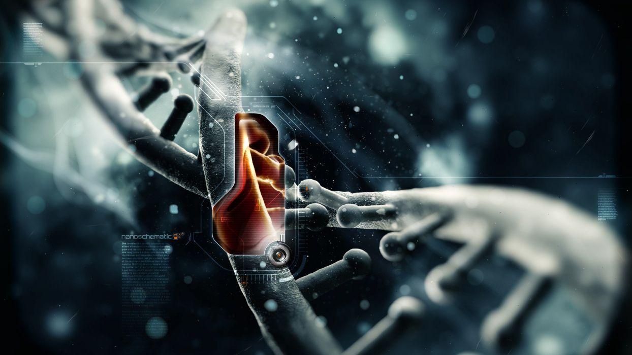 text DNA wallpaper