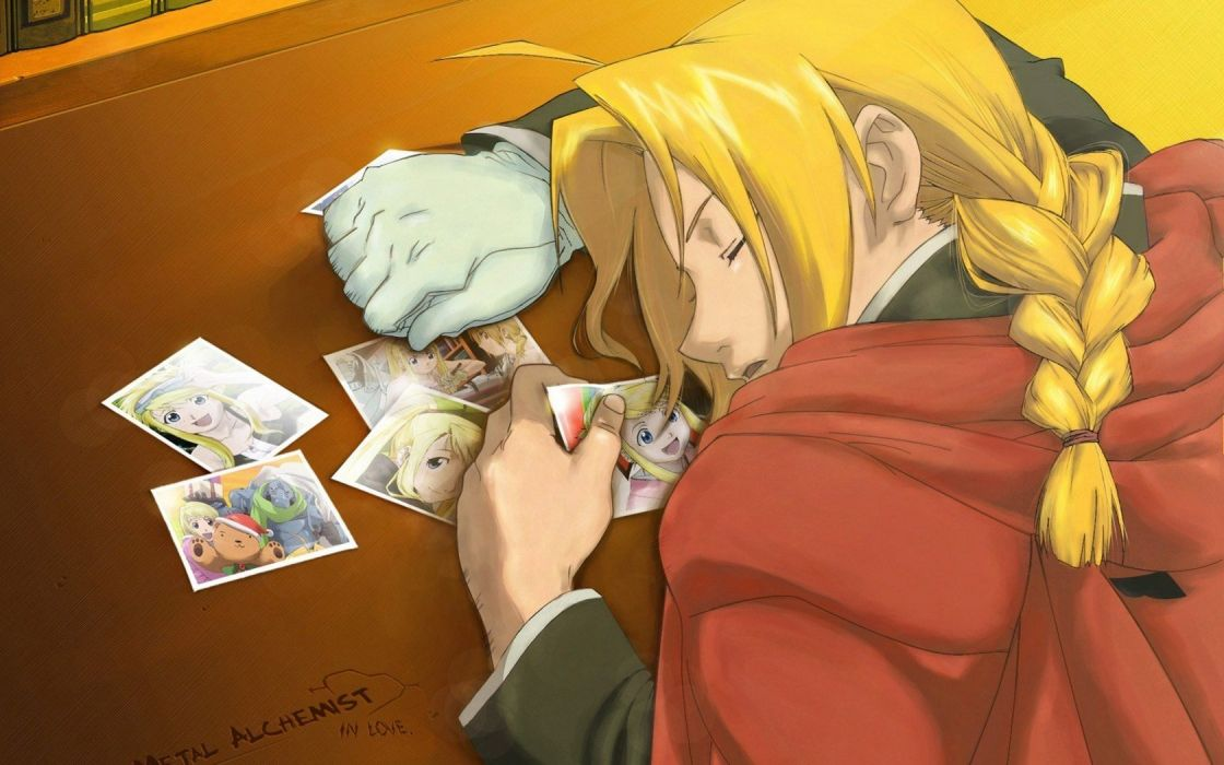 Fullmetal Alchemist Elric Edward anime wallpaper