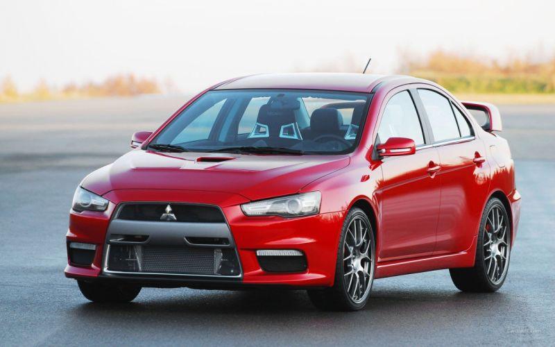 cars Mitsubishi Lancer Evo X wallpaper