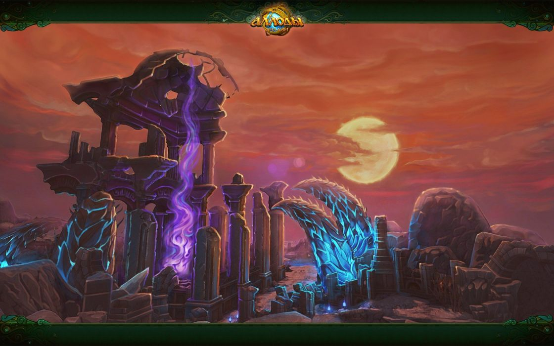 fantasy art Allods Online wallpaper