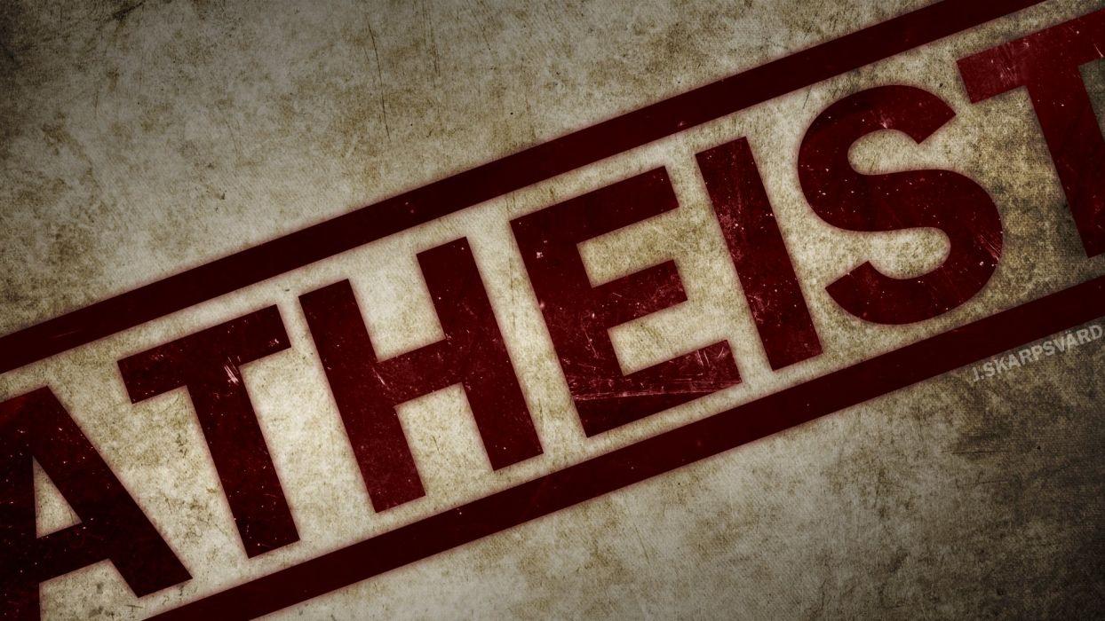 atheism wallpaper