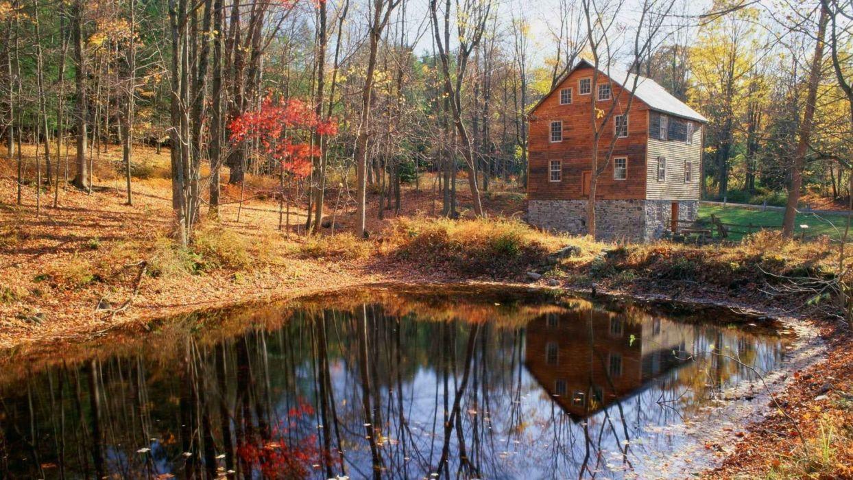 water mill national New Jersey gap wallpaper