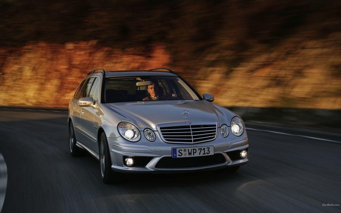 cars Mercedes-Benz Mercedes Benz E63 AMG wallpaper