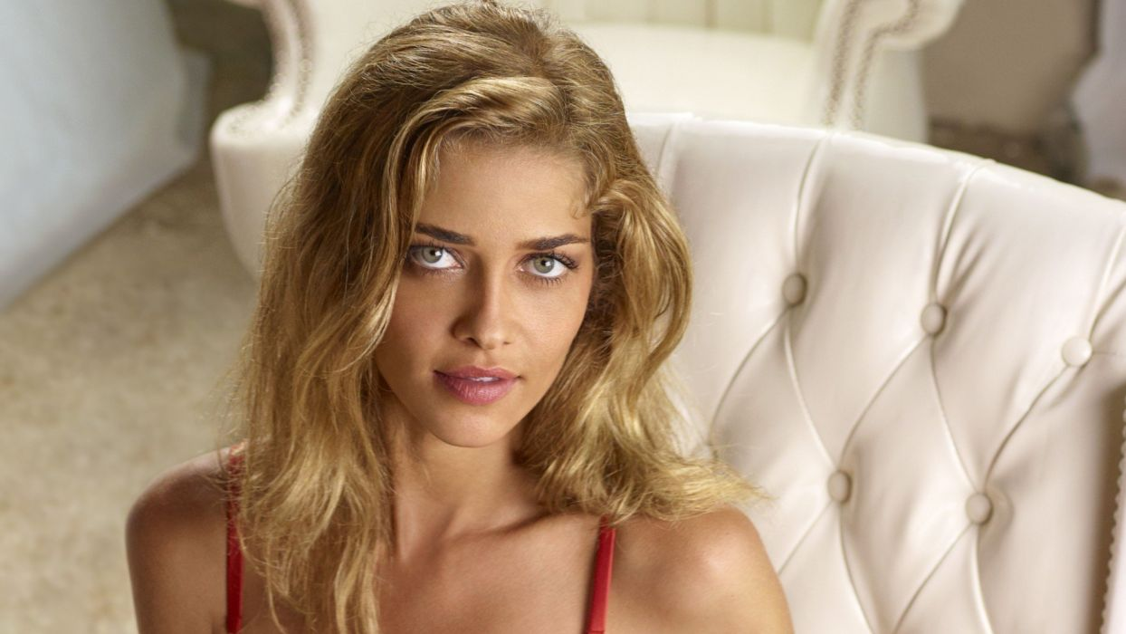 blondes women blue eyes Ana Beatriz Barros faces models wallpaper