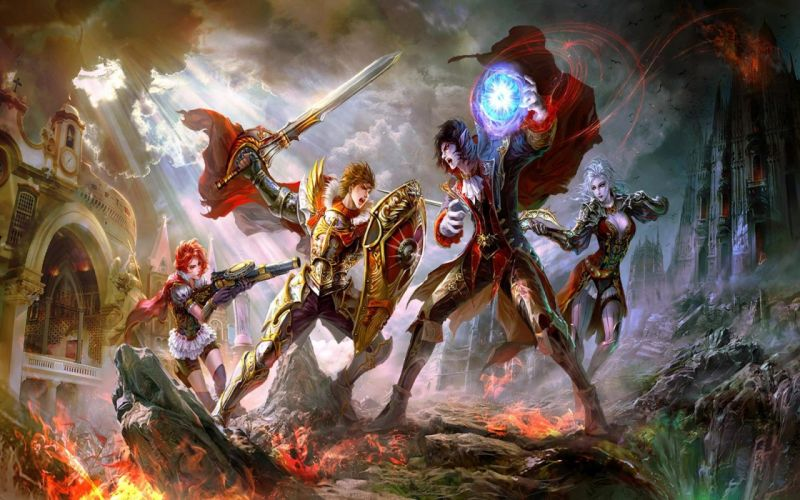 war weapons fantasy art magic artwork warriors wallpaper