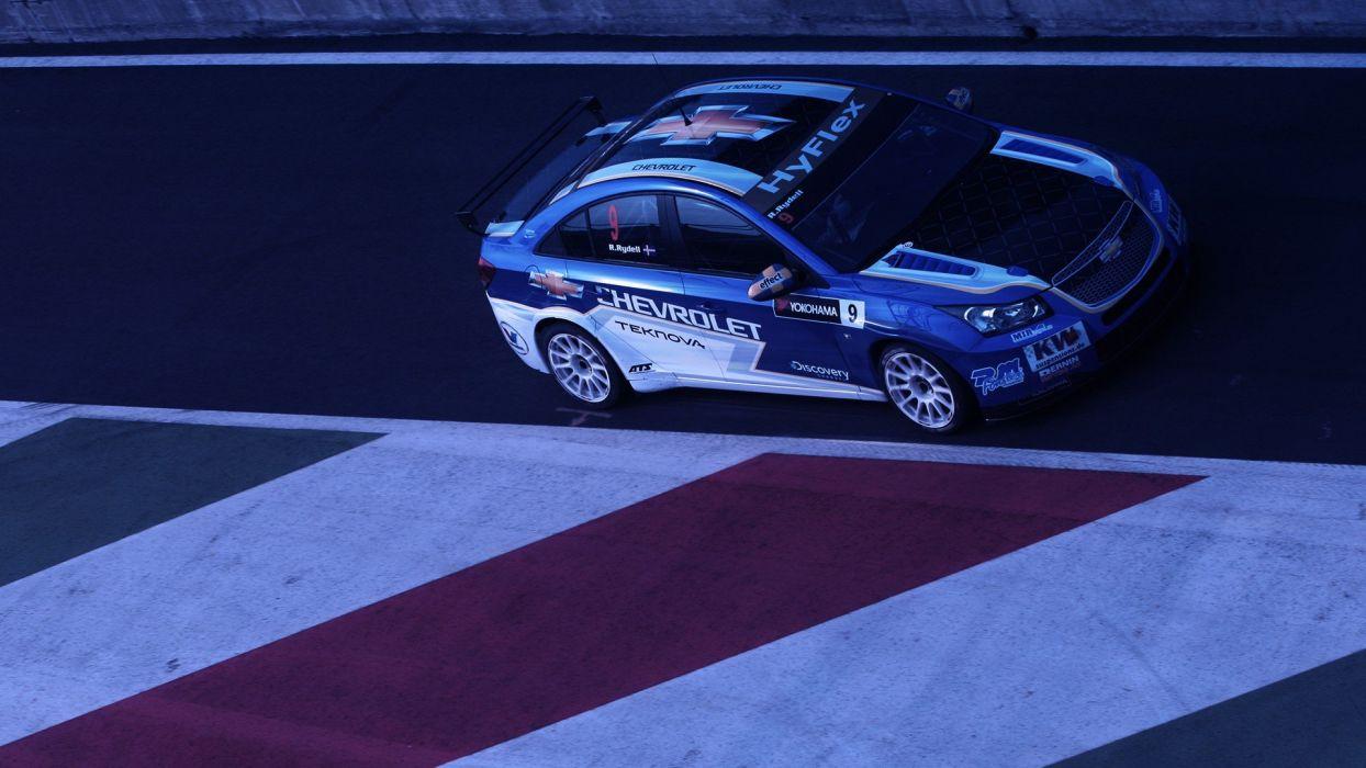 cars racing Chevrolet Cruze wtcc wallpaper
