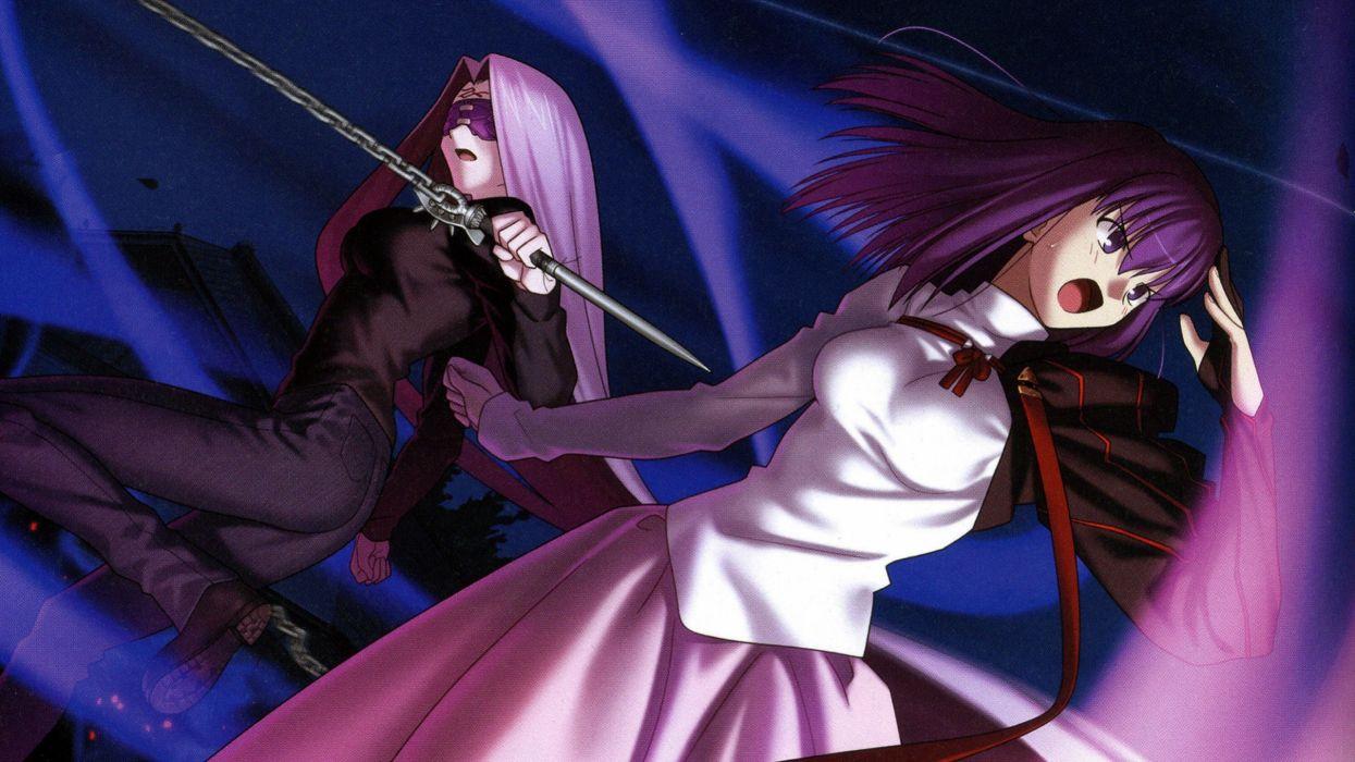 Fate Stay Night Matou Sakura Chains Rider Fate Stay Night Fate