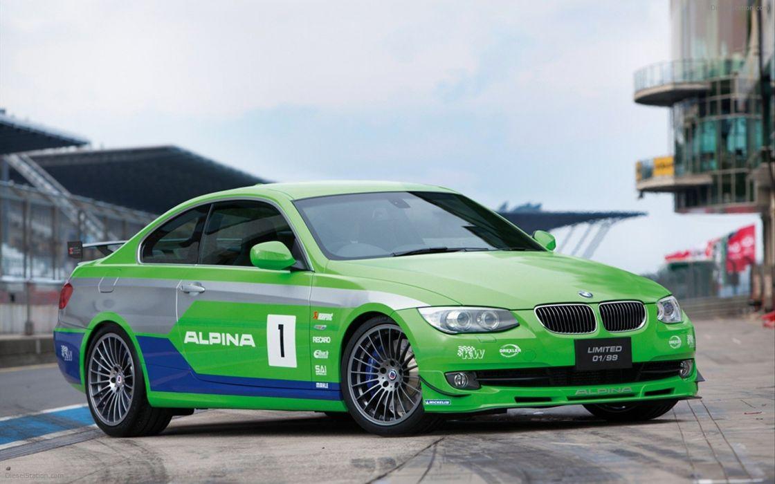 BMW cars Alpina Alpina BMW B3 GT3 (2012) wallpaper