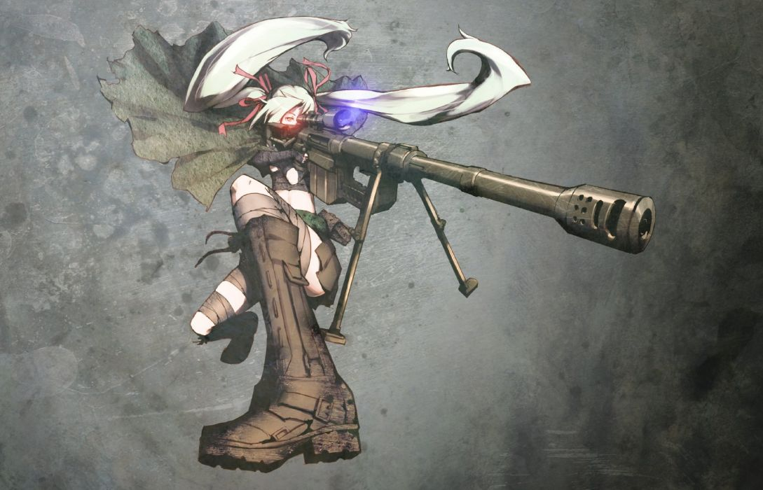 weapons anime anime girls original characters wallpaper