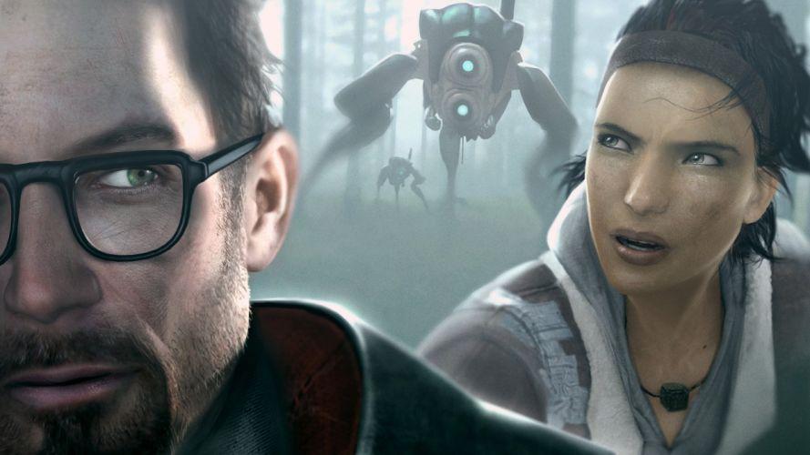 Valve Corporation Half-Life Gordon Freeman Alyx Vance Half-Life 2 Hunters (Half-Life) wallpaper