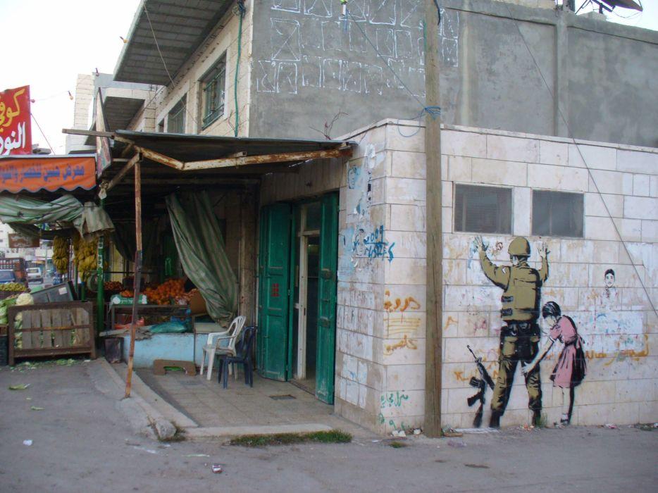 graffiti Banksy wallpaper