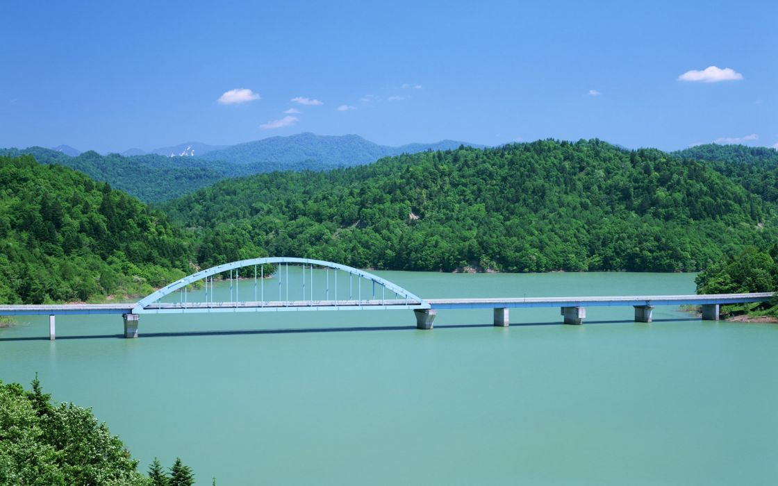 Japan bridges wallpaper
